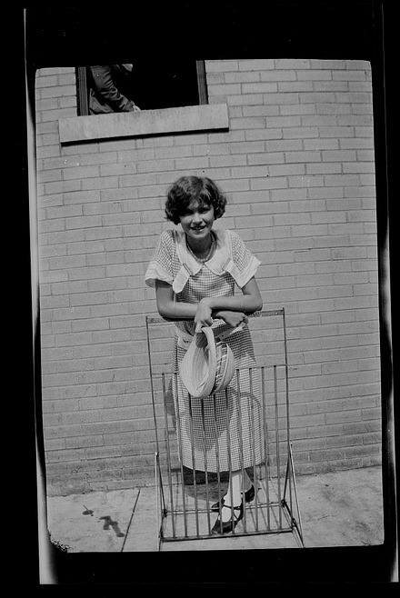 Unidentified young woman, Dayton, Tennessee