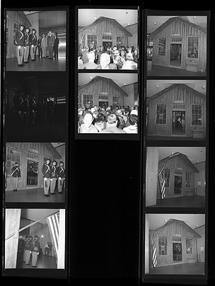 Opening Ceremonies for the Headsville, West Virginia Post Office and Country Store