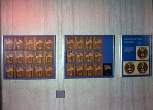 """""""Inlaid Wood Flags and Seals"""" Exhibit at NMHT"""