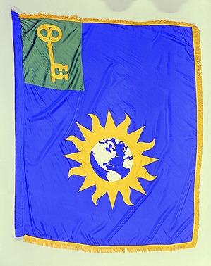 Flag Designed for Science Information Exchange, Smithson Bicentennial