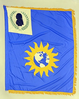 Flag Designed for the National Portrait Gallery