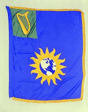 Flag Designed for the Kennedy Center, Smithson Bicentennial