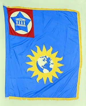 Flag Designed for the National Museum, Smithson Bicentennial