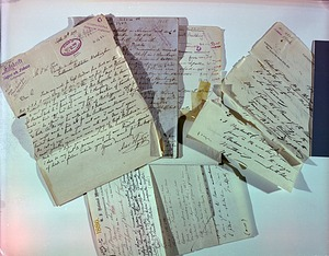 Registrar Files, Showing Deterioration of Manuscripts and Paper Materials
