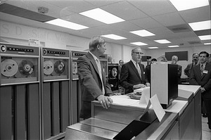 Open House Demonstration of Honeywell Computer