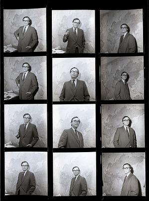 Portrait of Kennedy B. Schmertz, 1971, Smithsonian Institution Archives, SIA Acc. 11-009 [71-2918].