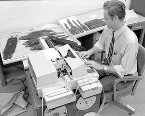 Thomas J. McIntyre Doing Data Entry