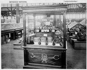 Philadelphia Centennial, Steel Manufacture