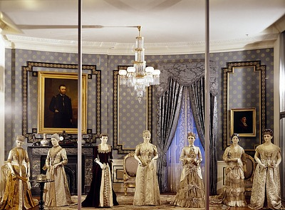 Exhibit of the First Ladies Hall at the National Museum of History and Technology, now known as the