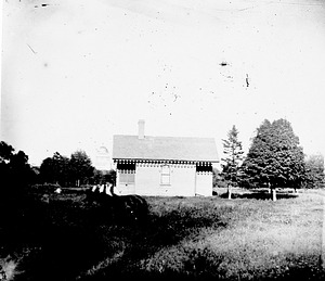 Garden Shed in the South Yard, by Unknown, c. 1860, Smithsonian Archives - History Div, 72-8167.