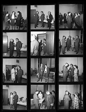 Reception for Peter C. Welsh, 1971, Smithsonian Institution Archives, SIA Acc. 11-009 [72-866].