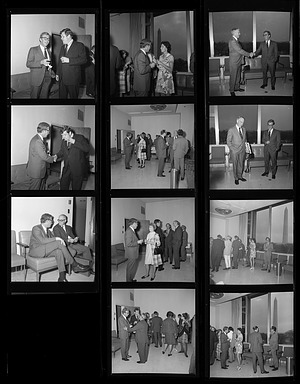 Reception for Peter C. Welsh, 1971, Smithsonian Institution Archives, SIA Acc. 11-009 [72-867].