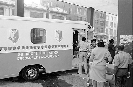 Reading is Fundamental Bookmobile