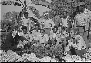 Landscaping Staff in Victorian Garden