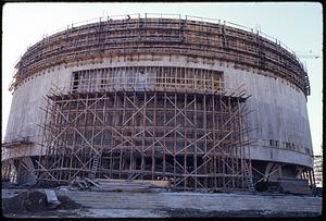 Construction of Hirshhorn Museum and Sculpture Garden