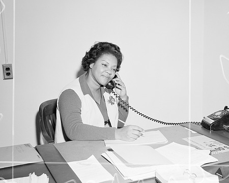 LaVerne M. Love, by Unknown, 1973, Smithsonian Archives - History Div, 73-1397.