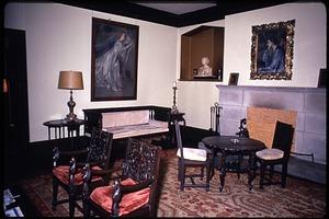 Interior view of Alice Pike Barney Studio House