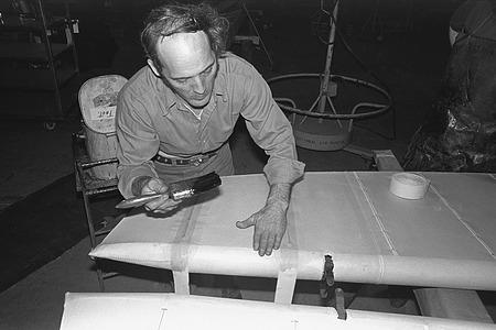 Walter Roderick Restoring Aircraft