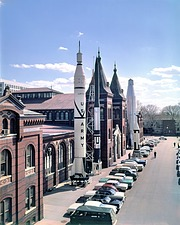 Rocket Row, by Unknown, 1961, Smithsonian Archives - History Div, 73-7185.