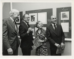 "Opening of Archives of American Art Exhibit, ""From Reliable Sources"""