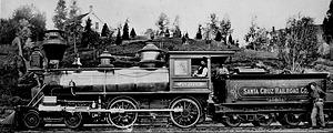 Jupiter Steam Locomotive Train Engine