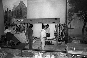 Installation of National Museum of Natural History South American Exhibit