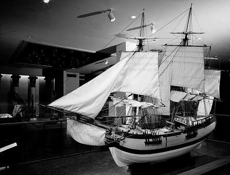 """Model of Tobacco Ship """"Brilliant"""""""