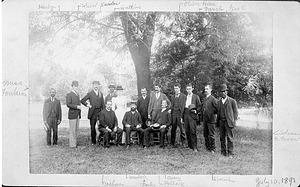 Staff, International Exchange Service, 1891