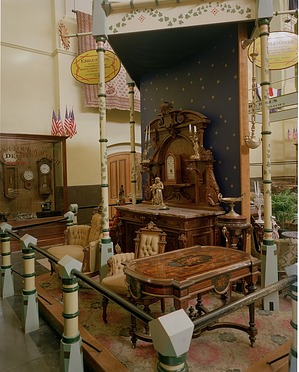 Exhibit of Parlor Furniture, by Unknown, 1976, Smithsonian Archives - History Div, 77-3178.