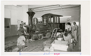 "Steam Locomotive ""Olomana"" Arrives at NMHT Loading Dock"