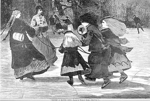 """Winter"" by Winslow Homer"