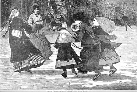 """Winter"" by Winslow Homer"