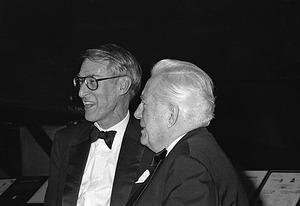 Assistant Secretary David Challinor and Chief Justice Warren E. Burger