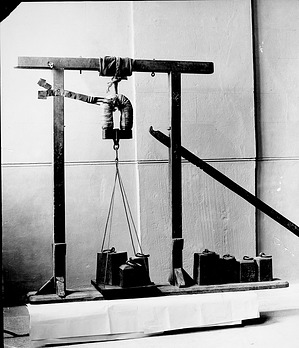 Electromagnet Made by Joseph Henry, by Unknown, 1978, Smithsonian Archives - History Div, 78-6063.