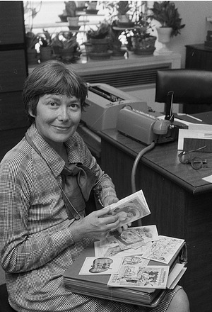 Lisa Taylor, by Unknown, 1979, Smithsonian Archives - History Div, 79-9846-17.