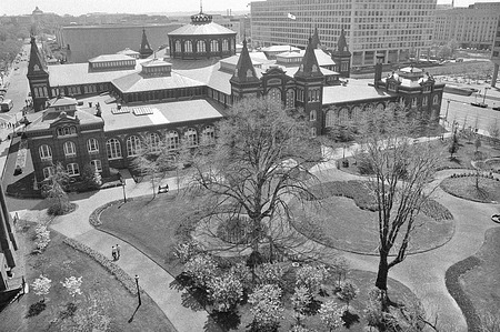 Victorian Garden and the A&I Building