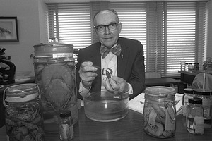 Horton H. Hobbs, Jr. Feeding Crayfish