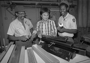 Cornell Evans, Ryo Nishimi, John Marshall