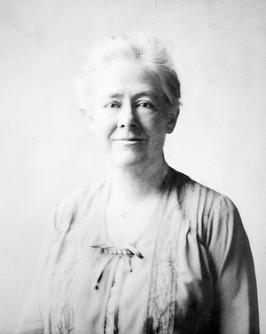 Mary Vaux Walcott, by Unknown, 1924, Smithsonian Archives - History Div, 82-3136.