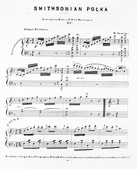 Music for Smithsonian Polka by W. Bergman