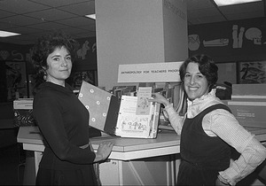 Catherine Burt and Ruth Selig