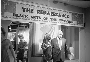 Mercer Ellington Filming at Anacostia Museum