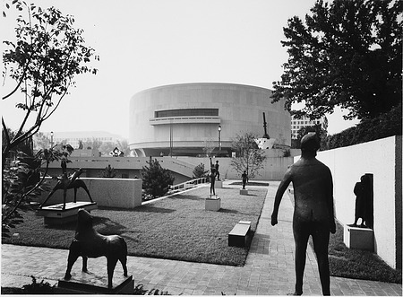 Sunken Sculpture Garden at HMSG, by Unknown, 1985, Smithsonian Archives - History Div, 85-9085.