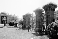 Renwick Gates in the Enid Haupt Garden