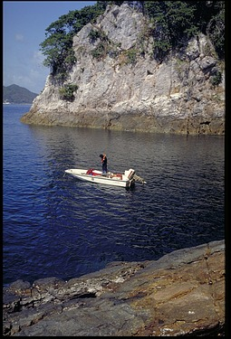 Dive Trip, Panama, STRI, 1986, Smithsonian Institution Archives, SIA Acc. 11-009 [88-7265].