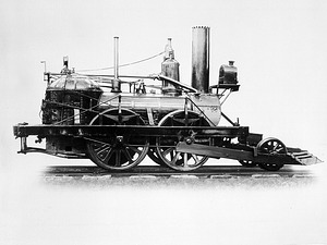John Bull Locomotive, by Unknown, Smithsonian Archives - History Div, 91-3696.