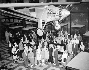 """Spirit of St. Louis"" in the A&I Building"
