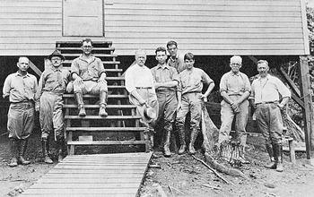 Workers on Barro Colorado Island, Panama
