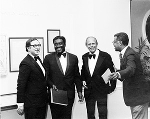 Opening of NPG's exhibit, by Unknown, 1973, Smithsonian Archives - History Div, 92-1649.