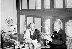 Secretary Ripley and King of Bhutan